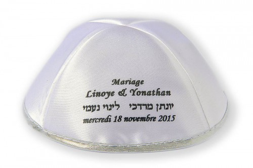 Wedding Kippot 48