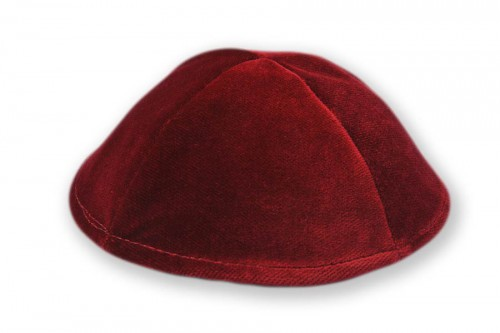 Smooth Velvet Kippot 282