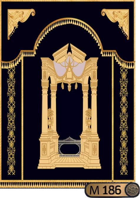 Parochet Royal Gates style M186